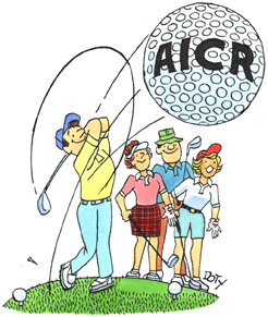 Golf Tournament AICR ball
