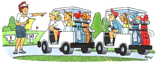 Golf Directing Carts