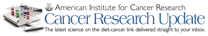 AICR's Cancer Research Update
