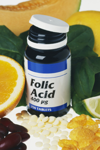 Folic Acid suppliments and folate rich foods
