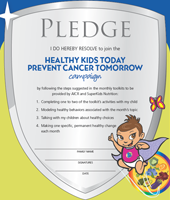 Healthy Kids Pledge