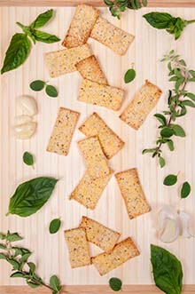 Cornmeal Crackers